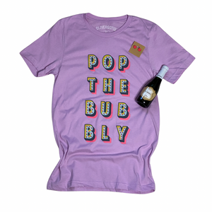 Pop the Bubbly tee