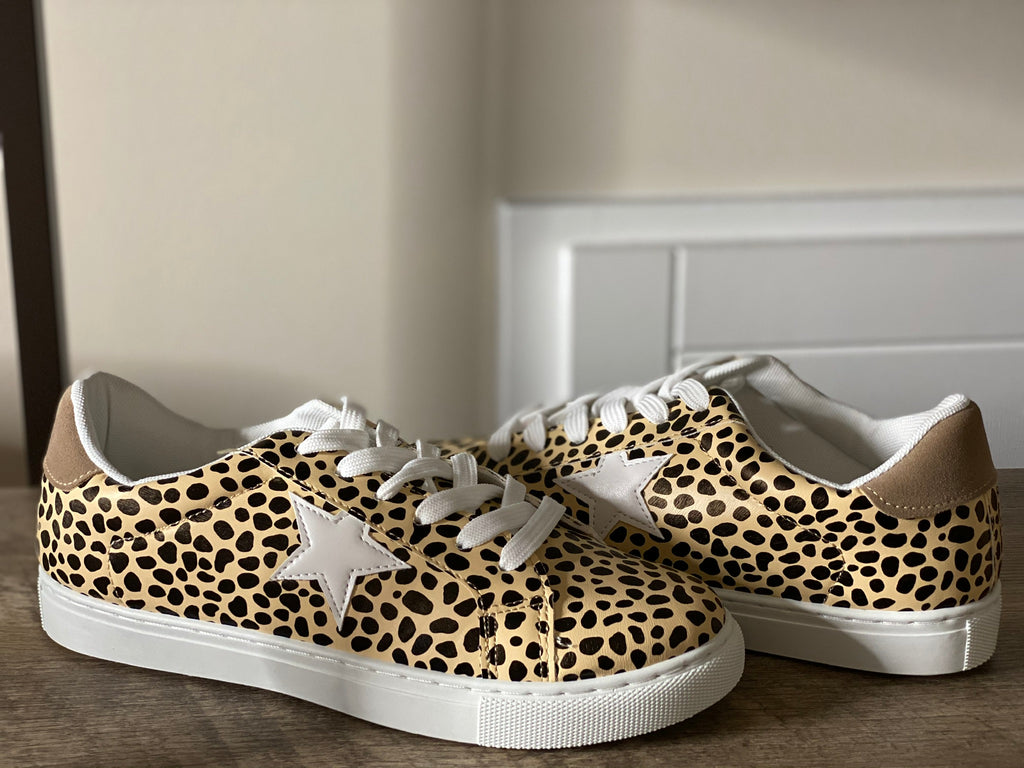 Cheetah Star Sneakers