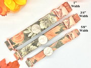 Black Floral Designer Dog Collar | Primavera Rosa Black