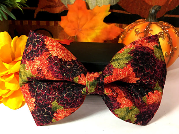 Handmade Dog Collar Bow Tie | FURBELOW Canine Designs