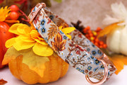 Autumn Dog Collar | Floral Harvest Beige