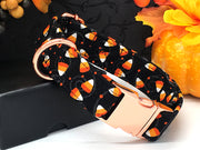 Halloween Dog Collar | Candy Corn Glitter