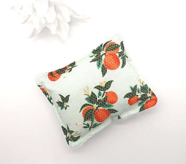 Reusable Sponge, Unsponge, Citrus Blossom Oranges