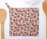 Potholder, Primavera Rosa Blush, Double Insulated