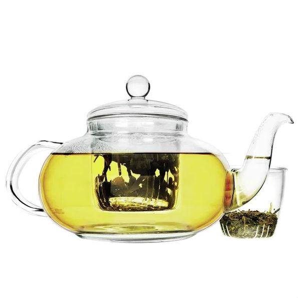 Stovetop Safe 40-oz Glass Teapot with Tea Infuser