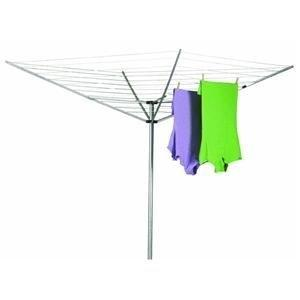 12-Line Outdoor Umbrella Style Laundry and Clothes Dryer