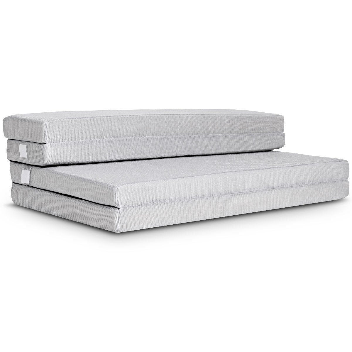 Queen size 4-inch Thick Folding Guest Bed Mattress