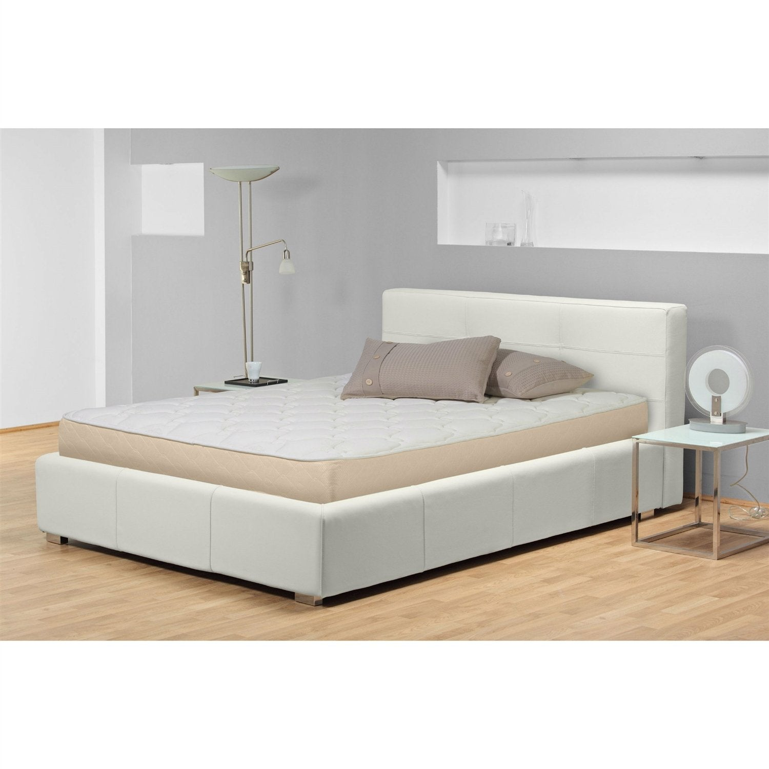 Twin size Firm 9-inch High Profile Innerspring Mattress with Fabric Cover