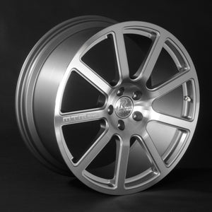 SET RIMS MTM BIMOTO 8,5 X 19 ET 20 LK 5X112incl. 15mm adapter kit diamond cut