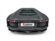 Load image into Gallery viewer, Akrapovic Aventador LP / 700-4 Coupe / Roadster Slip-On Exhaust System w/ Carbon Tail Pipe Set (Titanium-Inconel)