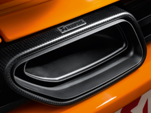 Load image into Gallery viewer, Akrapovic Titanium Slip-On Exhaust with Carbon Fiber Tips Mclaren MP4-12C 12-14