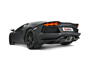 Akrapovic Aventador LP / 700-4 Coupe / Roadster Slip-On Exhaust System w/ Carbon Tail Pipe Set (Titanium-Inconel)
