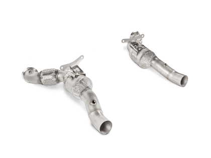 See more parts for your Ferrari 488 Spider Akrapovic Link Pipe Set With Cat Ferrari 488 GTB 16-18