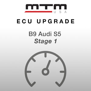 MTM ECU CONVERSION STAGE 1 AUDI S5 435 HP with MTM air filter