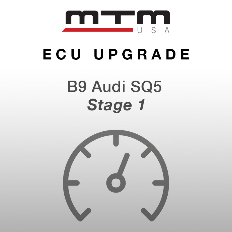 MTM ECU CONVERSION STAGE 1 AUDI SQ5 435 HP with MTM air filter