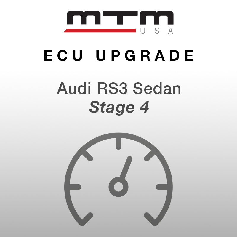 MTM ECU CONVERSION STAGE 4 AUDI RS3 8V 612 HP incl. MTM downpipe and turbocharger kit