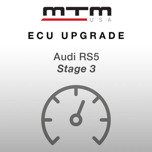 MTM ECU CONVERSION STAGE 3 AUDI RS5 612 HP incl. MTM turbo kit w. intake