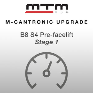 M-Cantronic AUDI S4 3,0TFSI 430 hp (317 kW) V/max (pre-facelift)
