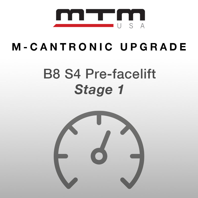 M-Cantronic AUDI S4 3,0TFSI 430 hp (317 kW) V/max