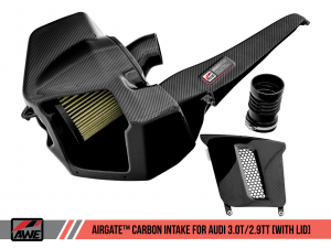 AWE AirGate™ Carbon Fiber Intake for Audi B9 3.0T / 2.9TT