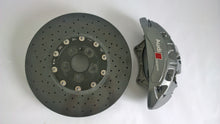 Load image into Gallery viewer, MTM CARBON CERAMIC BRAKE 420X40 MM FRONT AXLE with Brembo 6 piston calipers