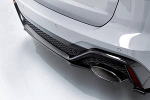 Maxton Central Rear Splitter Audi RS6 C8