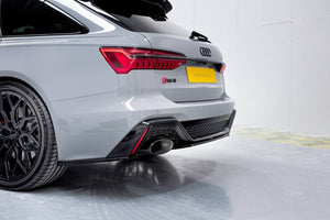 Maxton Rear Side Splitters AudiI RS6 C8