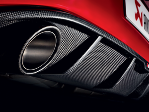 Akrapovic Titanium Slip-On Exhaust - Mk7 VW | GTI