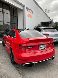 Audi A3/S3/RS3 Ducktail Spoiler