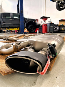 Akrapovic Evolution Titanium Exhaust System for C8 Audi RS6 / RS7