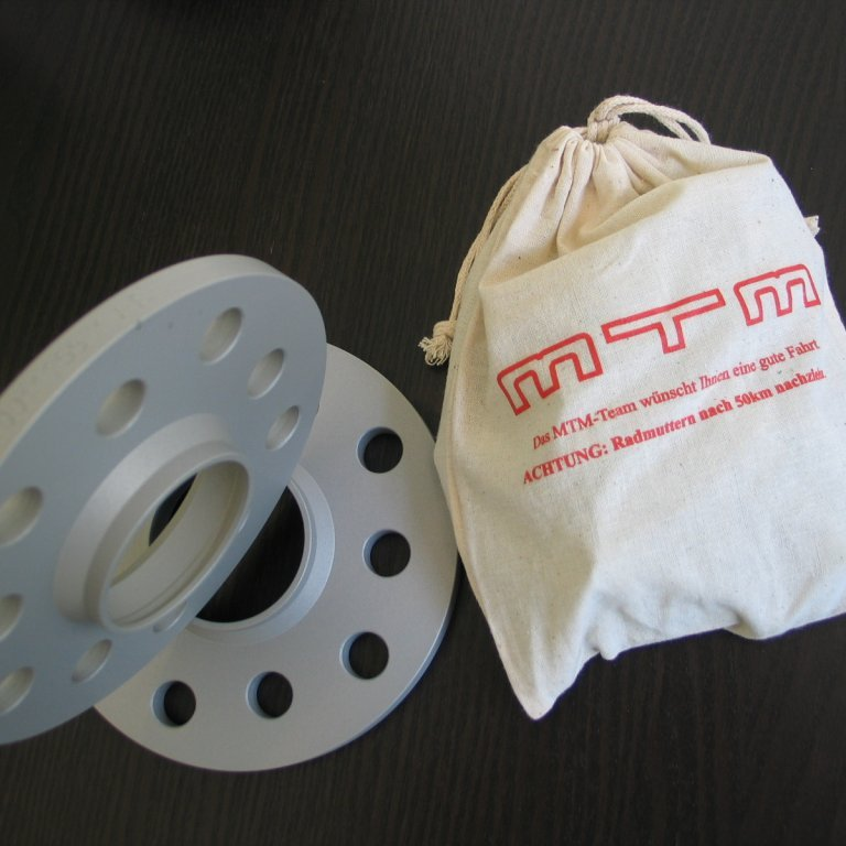 MTM-SPACERS 20mm (40mm per axle)