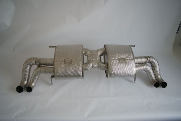 MTM Titanium exhaust system Audi R8 V8  with throttles, lightweight