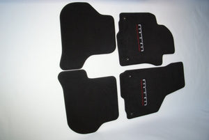 MTM-carpet AUDI A6 C8 with MTM-Logo