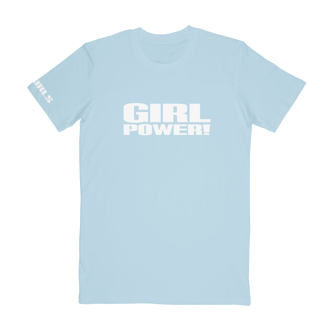 Baby Blue Girl Power Tee