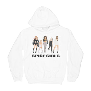 White Spice Girls Group Photo Hoodie
