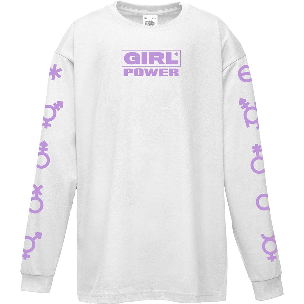 Girl Power Longsleeve Tee
