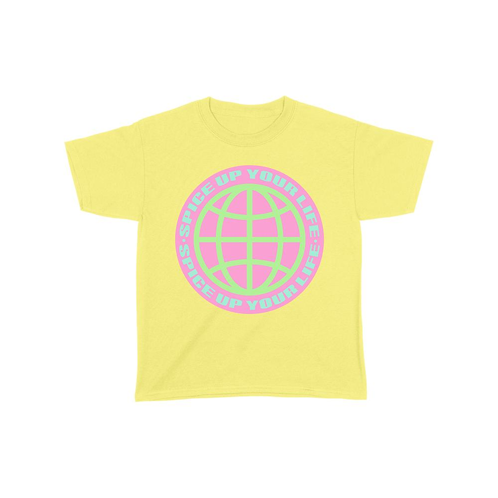 Yellow Spice Up Your Life Kids Tee