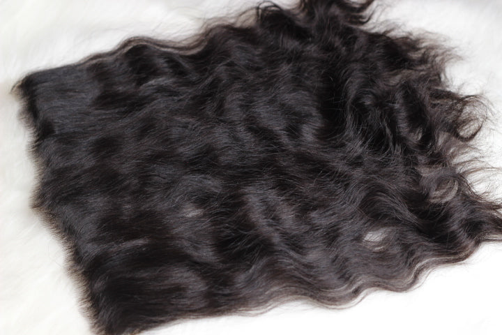 Raw Filipino Wavy Hair Frontal