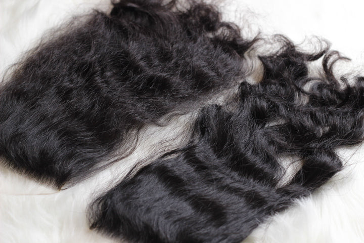 Filipino Wavy Hair Lace Closure - Glamour House Of Hair