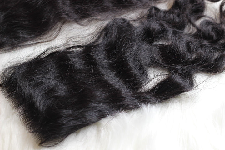 Filipino Wavy Hair Lace Closure