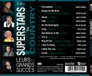 Les Super Stars du Country -cd (Disque compact)