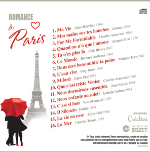 Romance à Paris - cd (Disque compact)