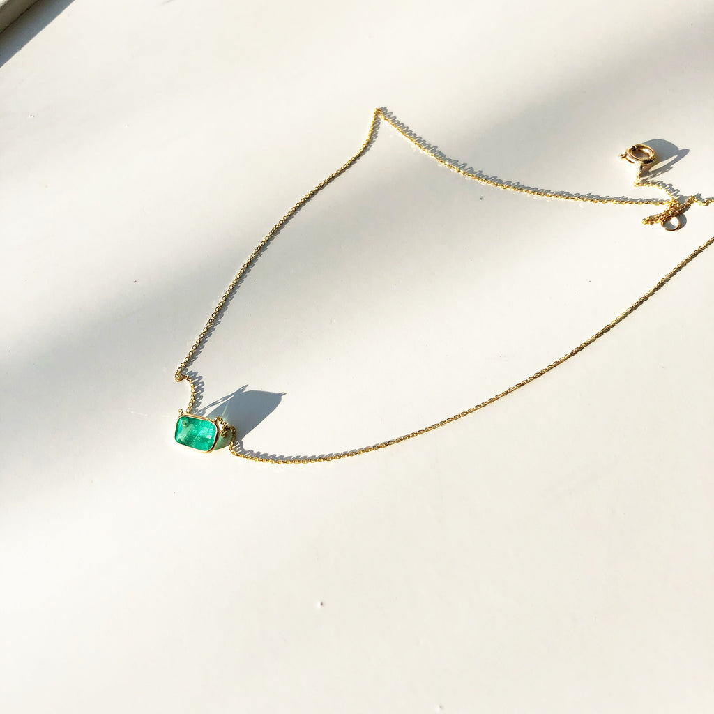 Ashley Necklace - Emerald