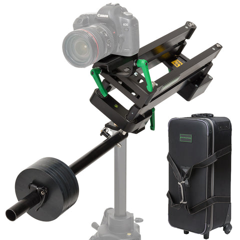 9. SOLUTIONS C-PAN CAMERA GUIDE SYSTEM WITH TRAVEL CASE