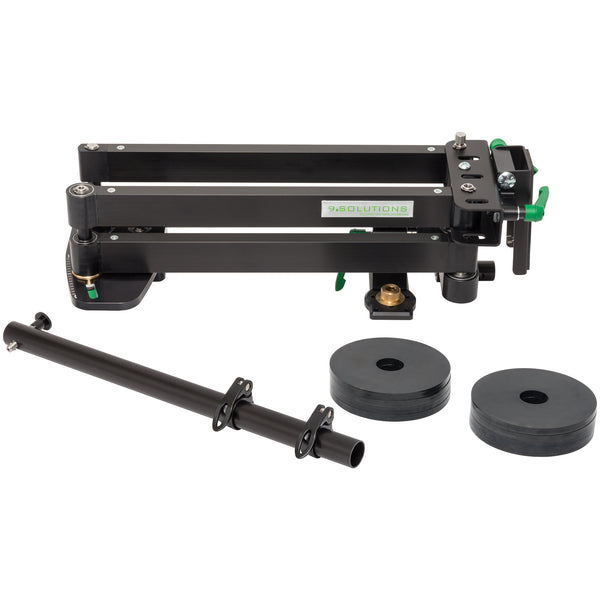 9. SOLUTIONS C-PAN CAMERA GUIDE SYSTEM WITH DELUXE TRIPOD AND CASE