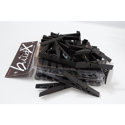 bulletX clothespin C47 clips - 40 PACK