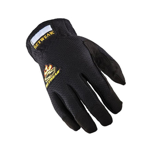 SETWEAR BLACK EZ-FIT GLOVES (VARIOUS SIZES)