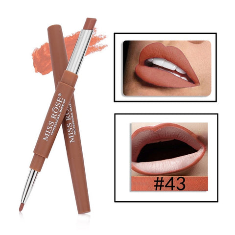 Image of 8 Color Double-end Lipstick Pencil