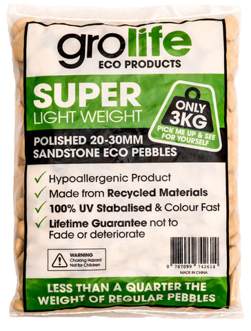 Grolife Eco Pebbles - Sandstone