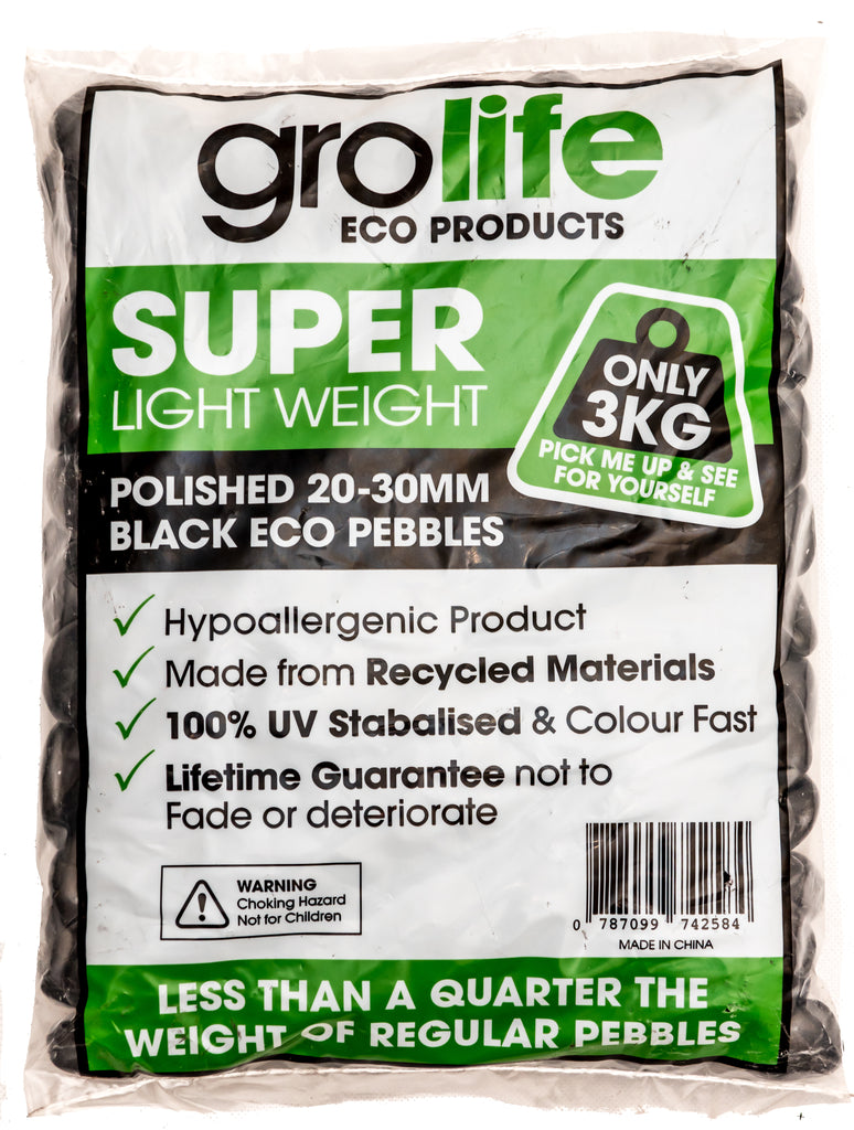 Grolife Eco Pebbles - Black